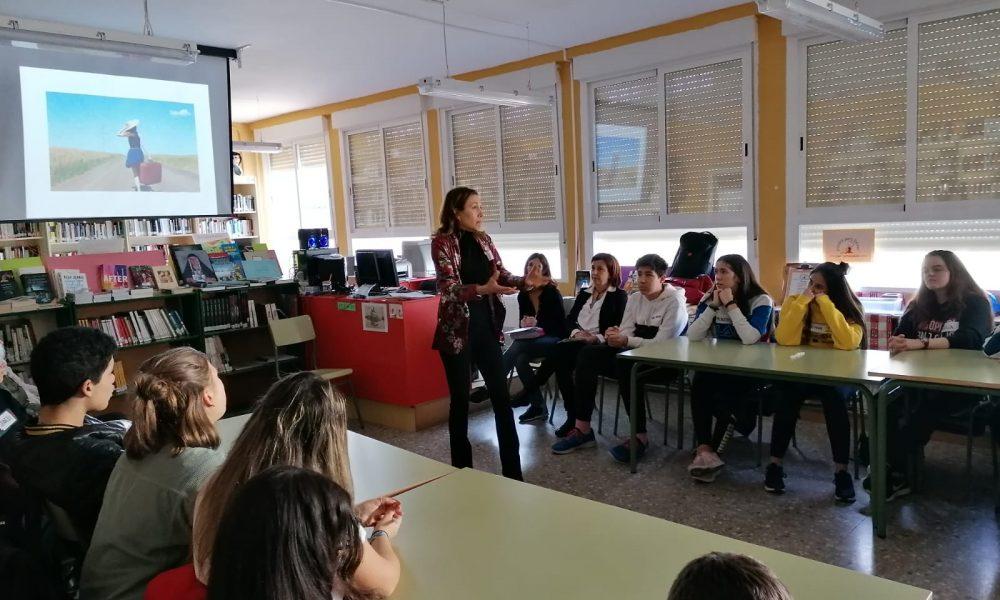 20 de febrero 2020: taller SOY FUTURO en el colegio IES Conde Aranda de Alagón