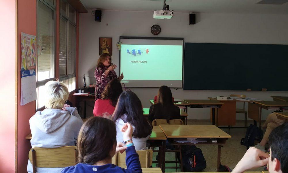 27 de febrero 2020: taller SOY FUTURO en el Colegio Escolapias Santa Engracia de Zaragoza
