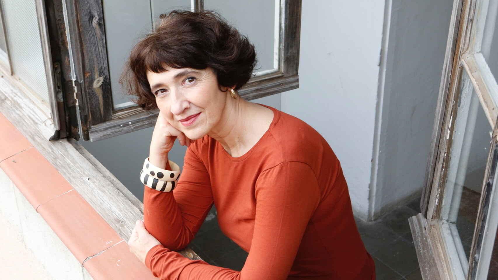 La pintora Eva Armisén. Cano Estudio